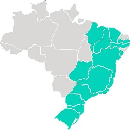 Mapa-do-brasil-vetor na Consolação - Serviços de Aromatização de Ambientes
